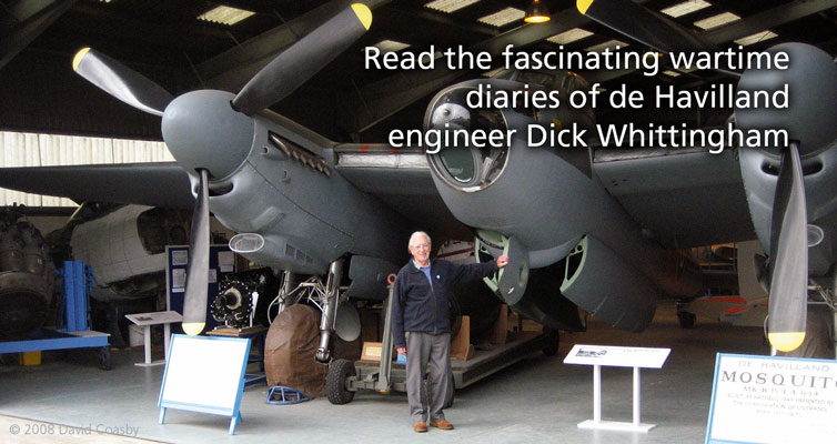 The Wartime Diaries of Dick Whittingham – a de Havilland Engineer