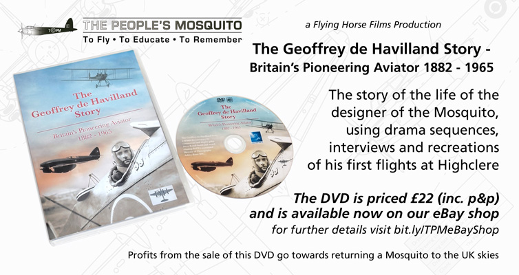 DVD – The Geoffrey de Havilland Story