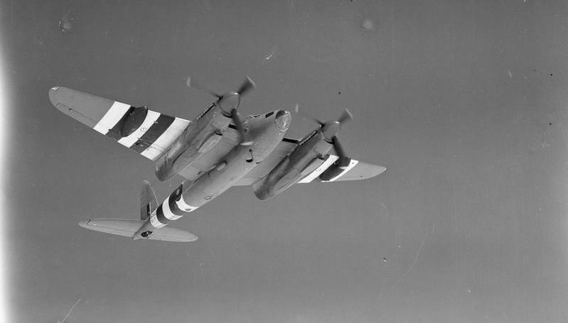 Mosquito PR MK. XVI, NS502 'M' of No. 544 Sqn., RAF (IWM CH 14263)