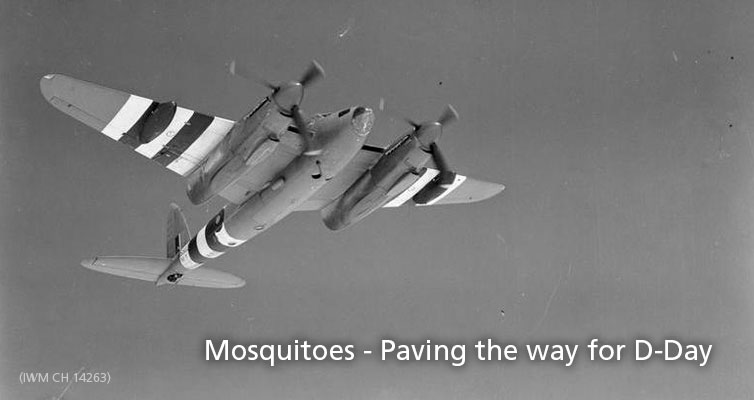 Mosquitoes – Paving the way for D-Day