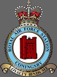 RAF Coningsby Station Crest