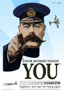 Your Mossie Needs You