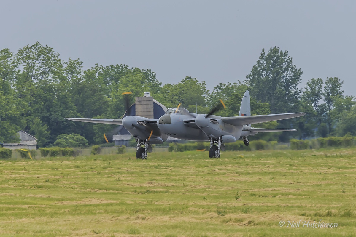 KA114 takeoff Hamilton