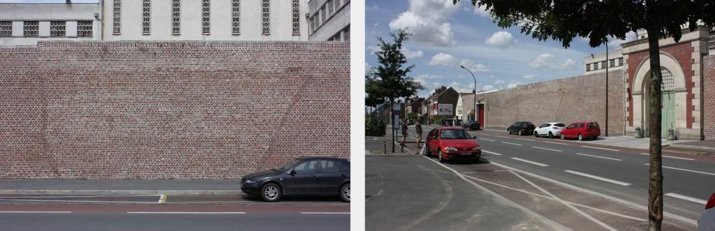 Amiens Prison wall